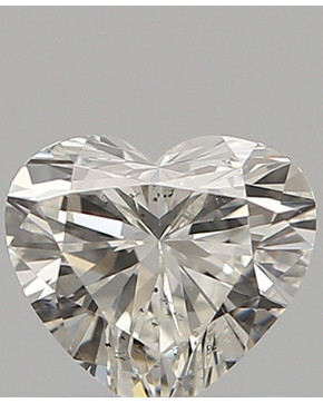 Diamant hjerte 5.5mm 0.5ct