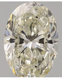 Oval diamant K VS2 0.51ct